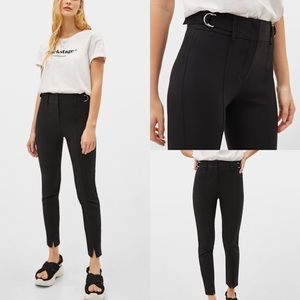 Bershka Slim Fit Work Pants 00